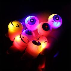 Lovely Pumpkin PVC LED Lights/Halloween Costumes & Ornaments (Set of 3)