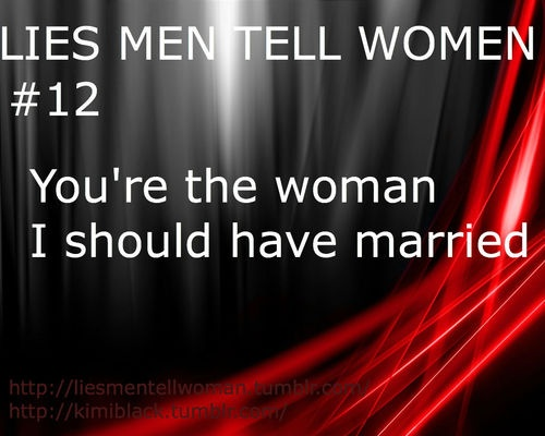 Lies Married Men Hillock Their Mistresses
