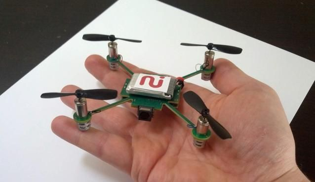 MeCam: A Mini-Drone Nano Copter. Continuously follows you and snaps pictures or videos.