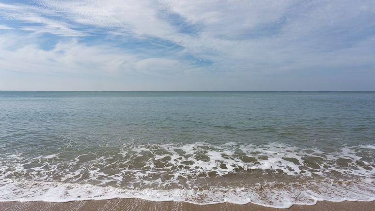 Ocean view at Golden Cap, Dorset, England