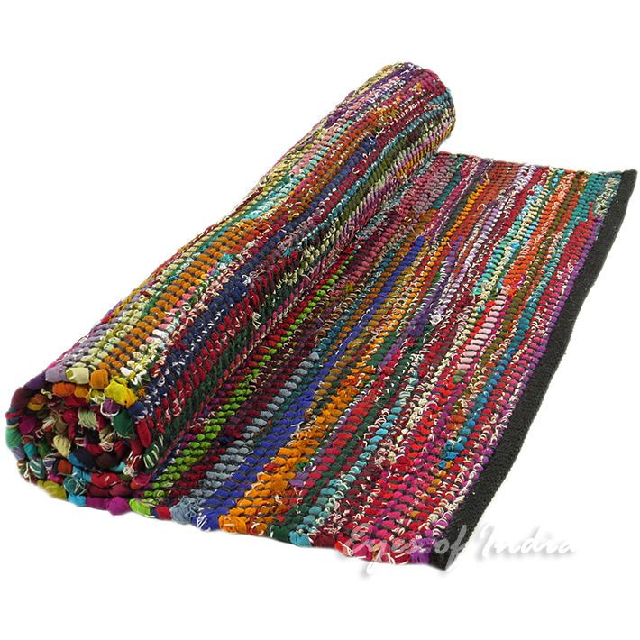 Rag Rugs Indian: 39 Best Images About Chindi Rugs Dhurrie Rugs Indian Woven