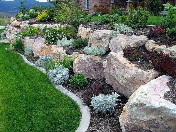 10++ Ideas for garden rocks info