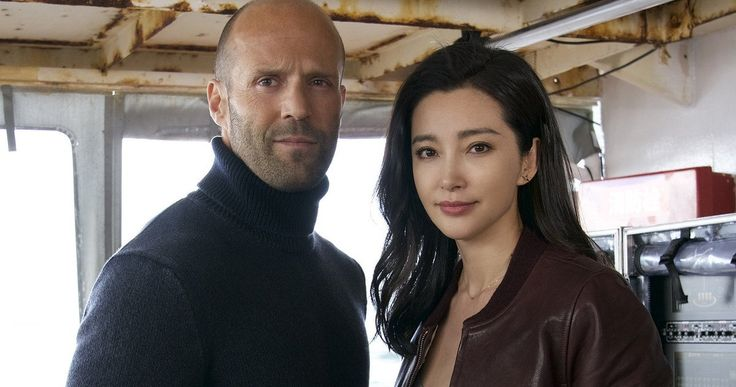 First Meg Photo Has Jason Statham Ready to Fight Sharks -- Get your first look at Jason Statham and Bingbing Li in Warner Bros.' shark thriller Meg, which has just started shooting in New Zealand. -- http://movieweb.com/meg-movie-jason-statham-bingbing-li-photo/