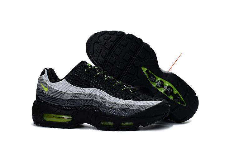 Nike Air Max 95 Men's Shoe Black Grey White