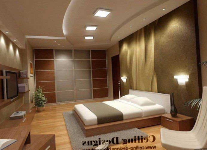 Pop Down Ceiling Designs For Bedroom