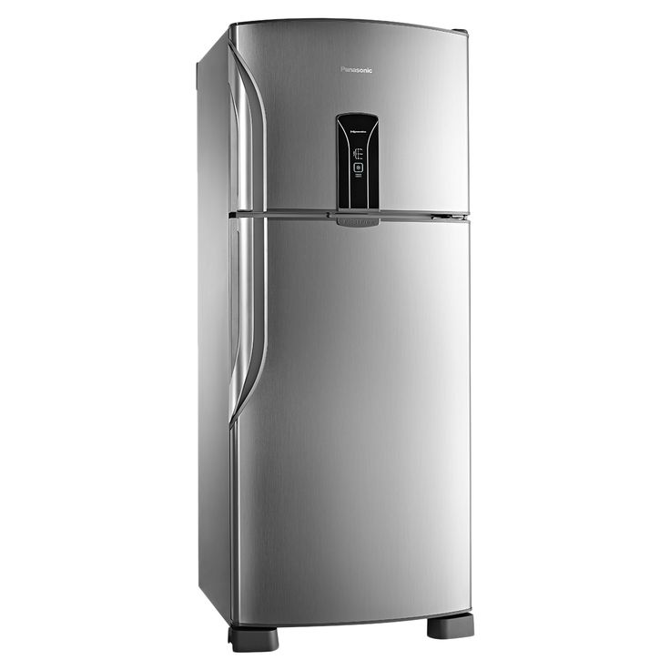 2448,00 -10x -  12 dd - frete gratis Geladeira Panasonic Frost Free Duplex 2 Portas Regeneration BT47X 435 Litros Inox 110V   Carrefour