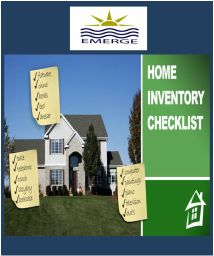 Household Inventory Checklist.  Your homeowners insurance provides coverage for the contents of your home, up to a limit, which you have selected with your insurance agent. In the event of a total loss, you would be expected to provide a list of all of your personal property that was damaged, along with its estimated value.