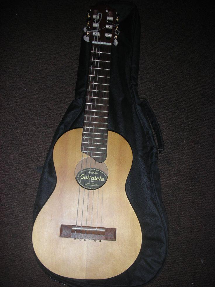 Yamaha GL1 Guitalele Six String Ukulele Musical Little small Guitar Nice