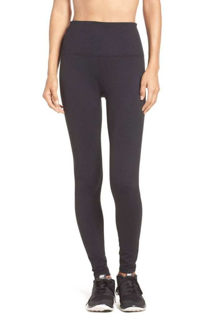 faf6a7e677 High-Waist Workout Leggings for Every Shape—and They ll Never Fall Down -  Lucy