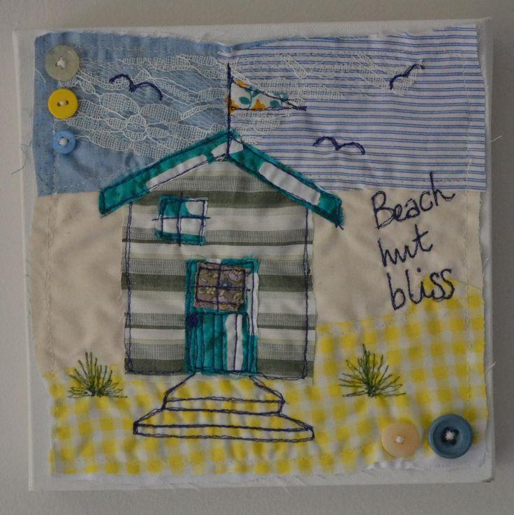 'Beach Hut Bliss'   Su Parkes