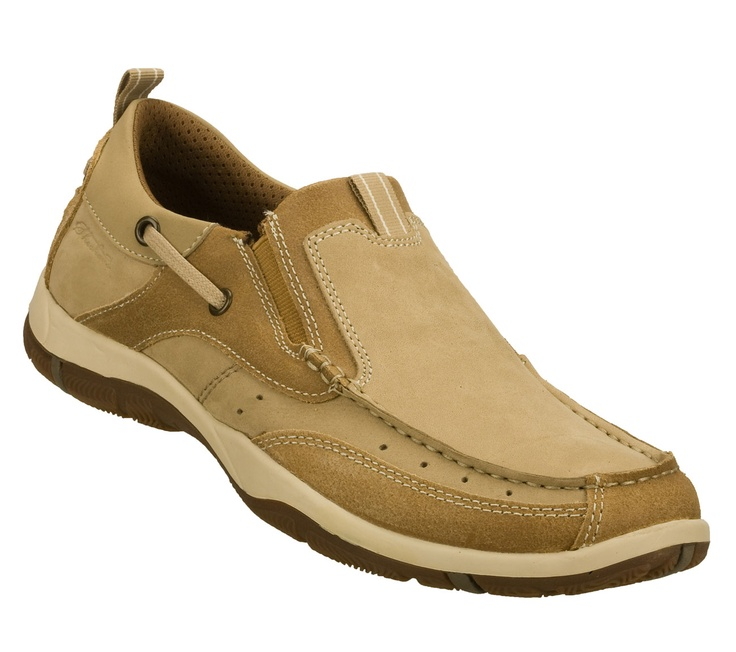 they're like boat shoes! but so so much worse!