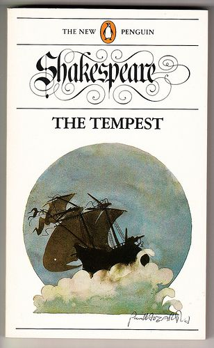 The Tempest by William Shakespeare. Vintage New Penguin Shakespeare series paperback. Reprint - 1988. Cover illustration by Paul Hogarth.
