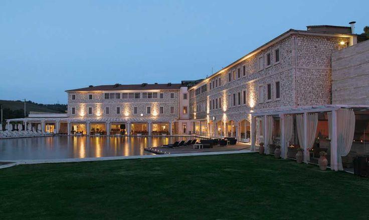 Terme di Saturnia Golf  Spa Resort: Das renommierte Terme di Saturnia Spa  Golf Resort liegt ca. 150 km nördlich von Rom in der Maremma, dem wildromantischen Süden der Toskana. #Italien #Toskana #Hotel #Spa #Golf #Gourmet