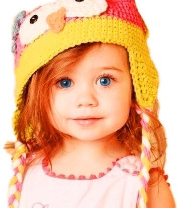 Adorable Redheaded Child