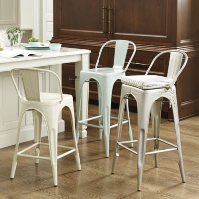 marian metal counter stool i really like these i like the spa color but - Metal Counter Stools