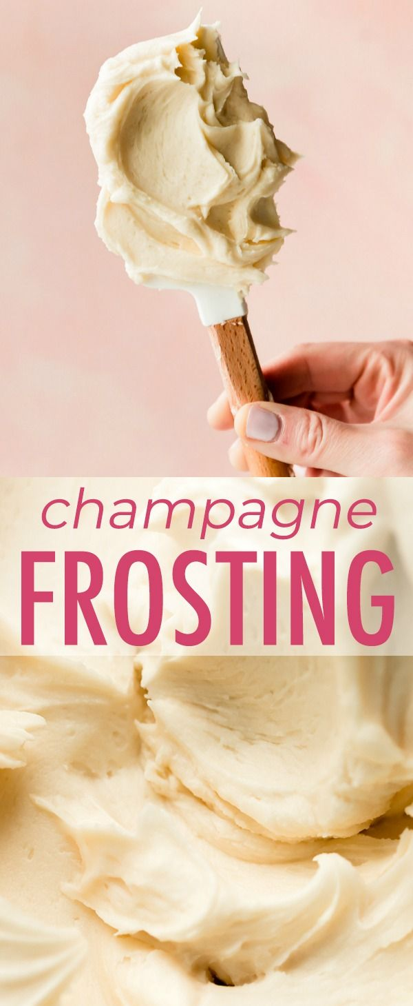 Homemade champagne frosting is a delightfully spiked and sparkly addition to any…