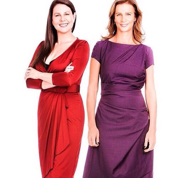 Julia Morris & Rachel Griffiths