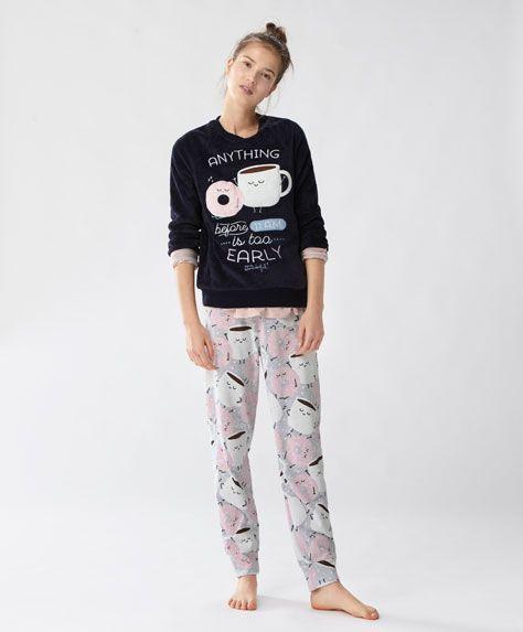 1000 id es propos de pyjama polaire femme sur pinterest pyjama primark primark produit et. Black Bedroom Furniture Sets. Home Design Ideas