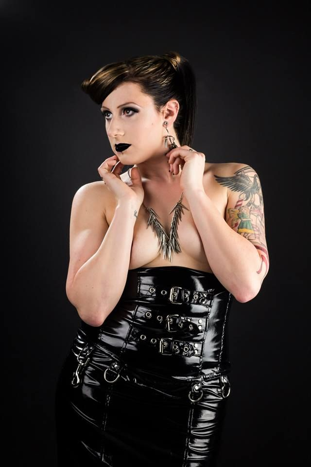 Latex studio portrait by Blind Eye Photography