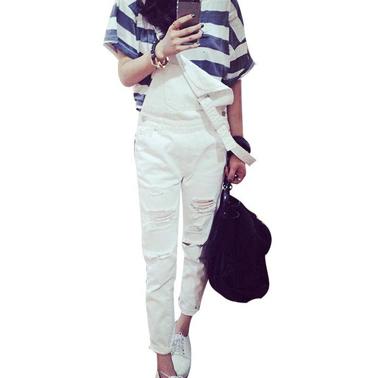$17.01 (Buy here: https://alitems.com/g/1e8d114494ebda23ff8b16525dc3e8/?i=5&ulp=https%3A%2F%2Fwww.aliexpress.com%2Fitem%2FSummer-Ladies-European-White-Denim-Overalls-Jeans-Woman-Worn-Street-Loose-Distressed-Fashion-Pantalon-Femme-Spaghetti%2F32670321004.html ) Summer Ladies European White Denim Overalls Jeans Woman Worn Street Loose Distressed Fashion Pantalon Femme Spaghetti Trousers for just $17.01