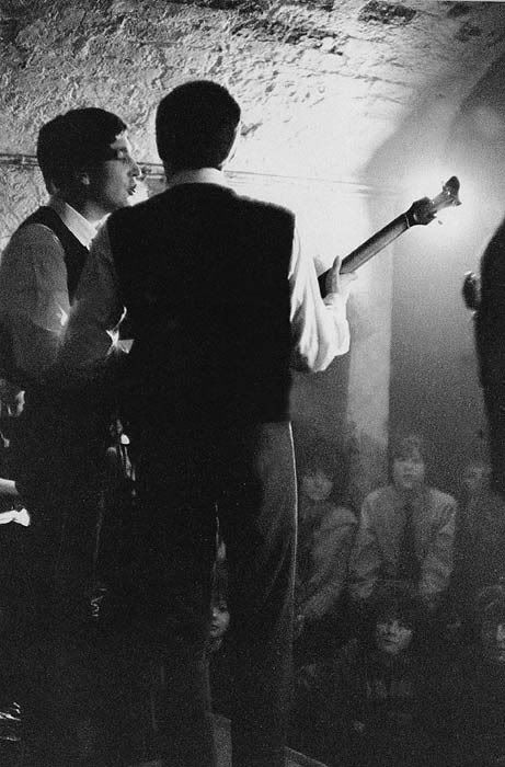 Beatles at the Cavern Club