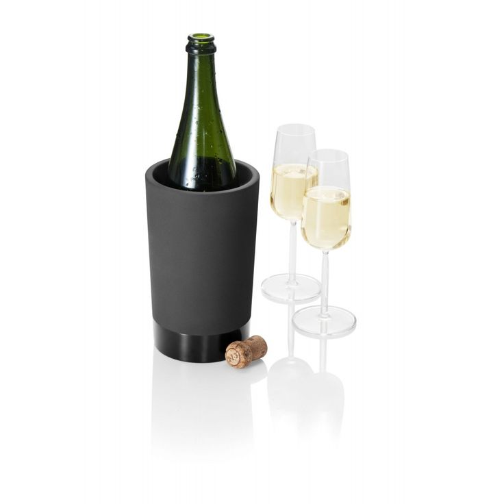 Cooler do butelek - Black Terracotta -MAGISSO - DECO Salon. Cooler Bottle. It's a real beauty and luxurious collection.#giftidea #forhim #fathersday #dlataty #dlaniego #design #kitchenaccessories