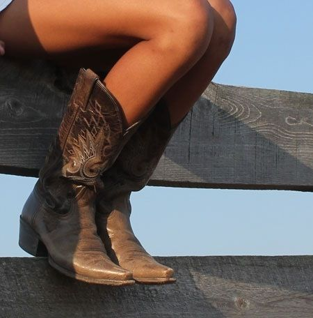 Cowgirl boots :)