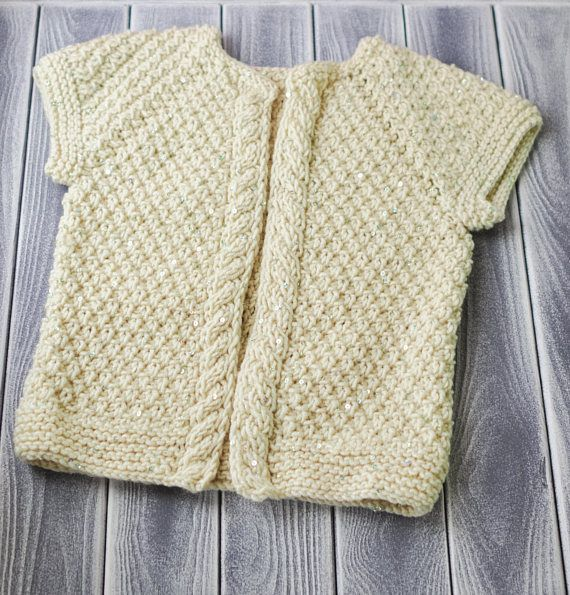 knitted baby jacket handmade very soft work pretty jacket