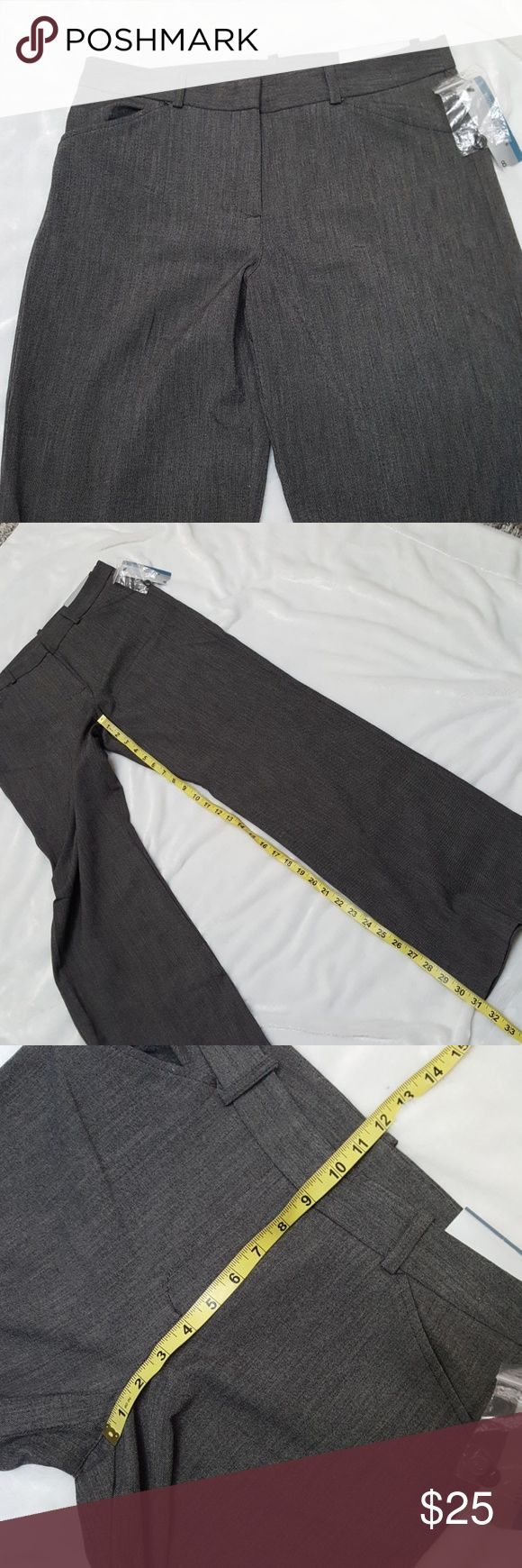 """🆕️Worthington Trouser Leg Pants sz 8X31 Nwt, has good STRETCH to them. Inseam APROX 31"""" long  I'm a Posh Ambassador shop with confidence 🤗 * trusted/high rated seller * Will ship next business day Worthington Pants Trousers"""