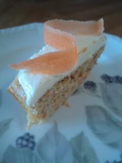 LCHF Carrot Cake