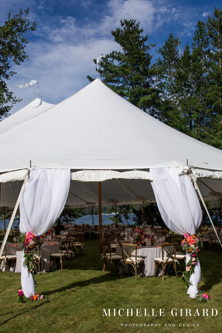 This one enters to our Tidewater Pole Tent for a & 486 best Classical Tentsu0027 Real Weddings and Events images on ...