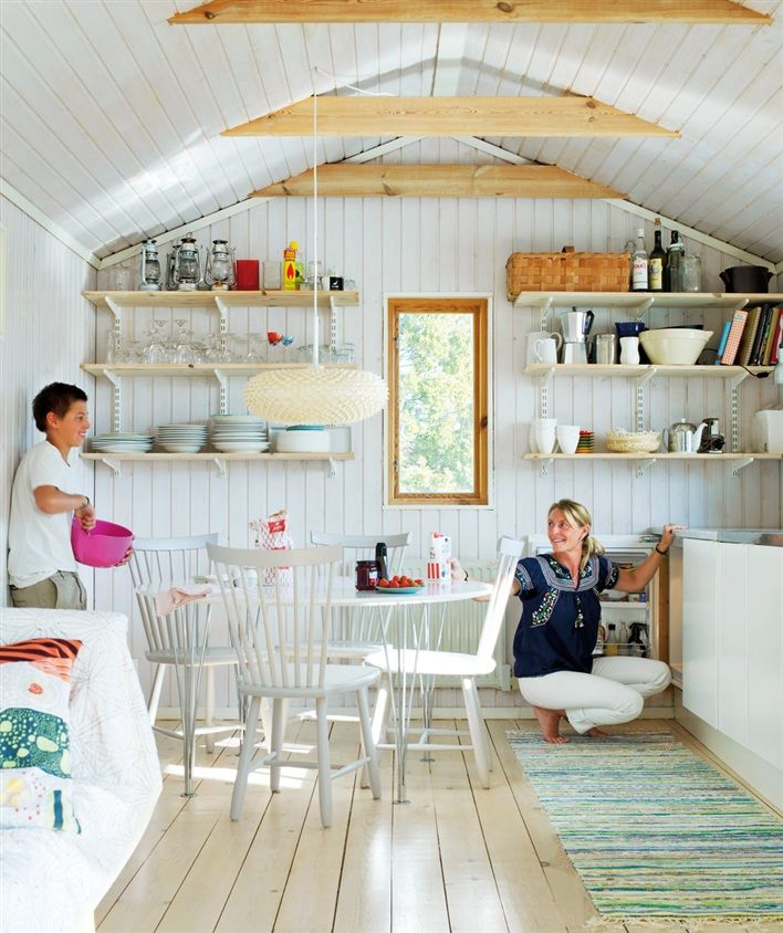 Home and Garden: Un chalet de vacances en Suède