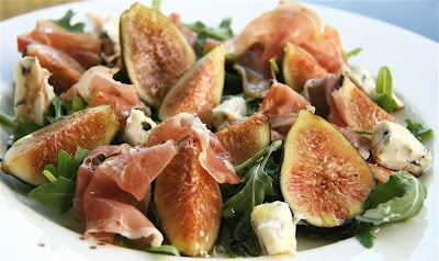 The Culinary Chase: Fig, Gorgonzola and Prosciutto Salad