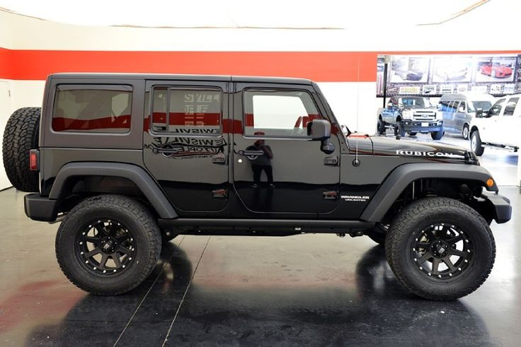 2013 Jeep Wrangler Unlimited Rubicon 4WD Lewisville, Texas   Lewisville Mitsubishi