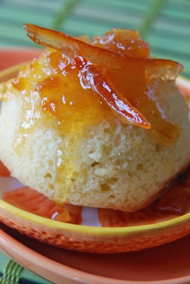 French yogurt cake with marmalade glaze recipe