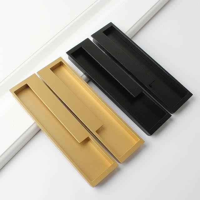 Online Shop Hidden Cabinet Handle Pull Sliding Door Handle Slotted Drawer Cupboard Wardrobe Hidde Sliding Door Handles Door Handles Interior Door Handle Design
