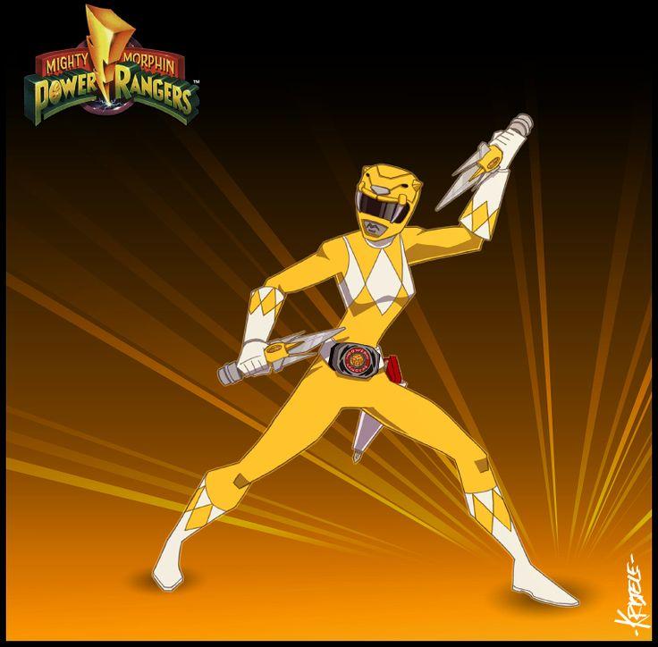 The Yellow Ranger by Kristele on DeviantArt