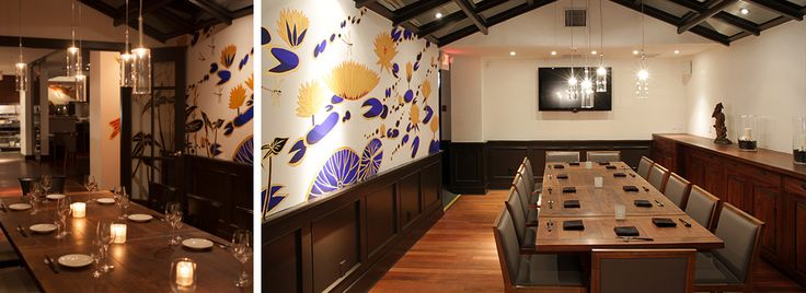 Minami Restaurant, Yaletown   Great space, and Aburi sushi that you love Sarah!