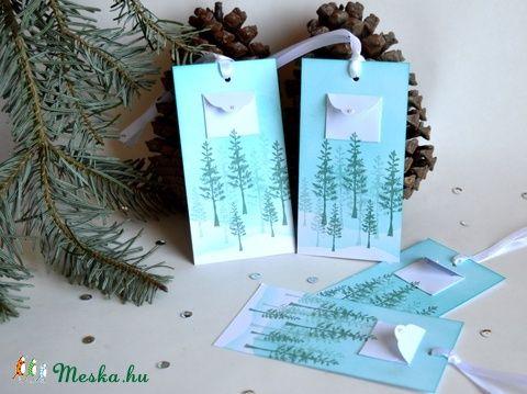 Karácsonyi ajándékkísérők Christmas tags