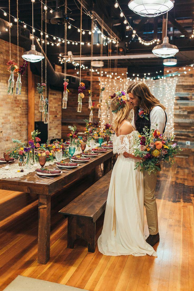 Boho Hochzeit Bohmische Hochzeit Wilde Blumen Bunte Hochzeit