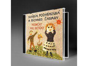 """PESNIČKY PRE DETIČKY - Veselé ľudové i zľudovelé detské piesne nahraté vynikajúcimi hudobníkmi si určite Vaše detičky rýchlo obľúbia. CD obsahuje známe veselé ľudové a zľudovelé piesne (obsahuje hity ako """"Už sme prišli z výletu, Ide ide slon, Hlava ramená atď""""."""