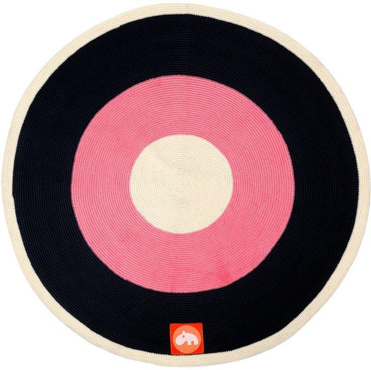 Stunning Done by Deer Kinder Teppich Rund Pink