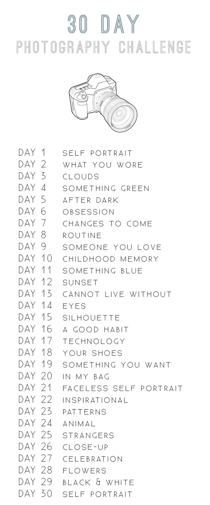 30 Day Photo Challenge for September?