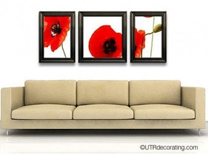 Super Living Room Art Above Couch Hang Pictures Id…