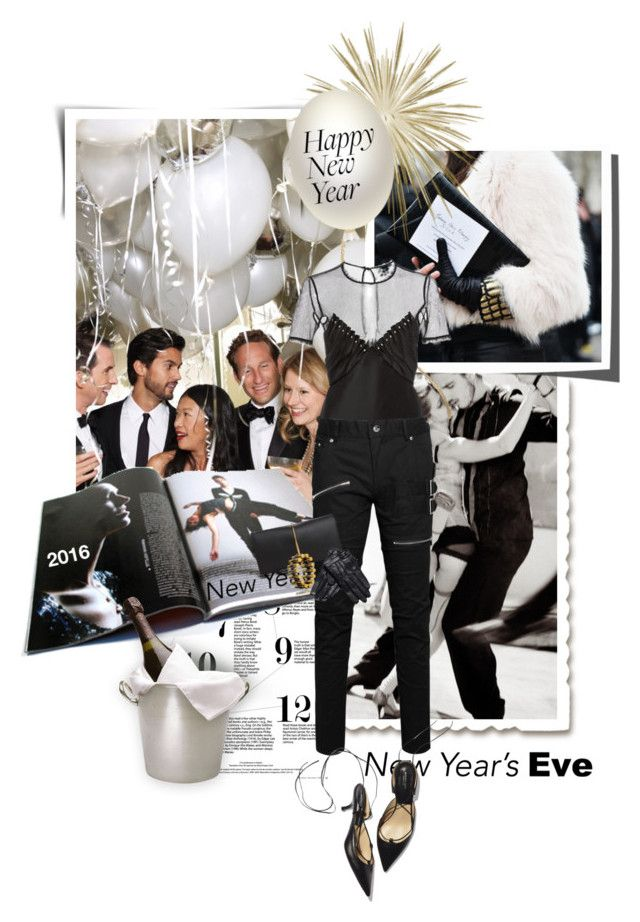 """""""NYE Dance Party"""" by lacas ❤ liked on Polyvore featuring Alexander Wang, Allegra K, Nina Ricci, Reed Krakoff and nyestyle"""