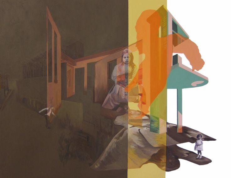 Anna Caruso | Il ballo che aspettavo, acrilico su tela, 2014