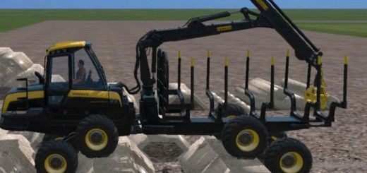Ponsse | Farming simulator 2015 mods