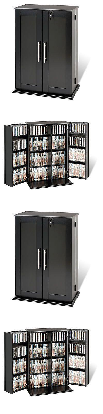 CD and Video Racks 22653: Black Multimedia Storage Cabinet Cd Dvd Rack Tower Video Media Shelf Organizer -> BUY IT NOW ONLY: $174.95 on eBay!