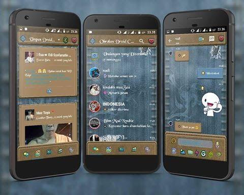 Download Kumpulan BBM Droit Chat! Mod Apk Terbaru : Droit chat ini merupakan salah satu BBM mod yang banyak digemari oleh para pengguna media chatting
