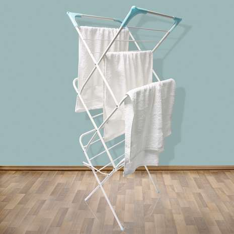 White Deluxe 3 Tier Airer